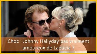 Johnny Hallyday pas vraiment amoureux de Laeticia? De nouvelles confidences chocs du rocker dévoilé