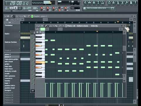 La Fase Buk - Se me va la voz, Fl Studio.