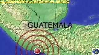 زلزال بقوة 5،2 يضرب غواتيمالا بالقرب من بركان فويغو منذ قليل ...
