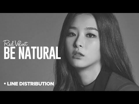 RED VELVET - Be Natural : Line Distribution (Ft. TaeYong)