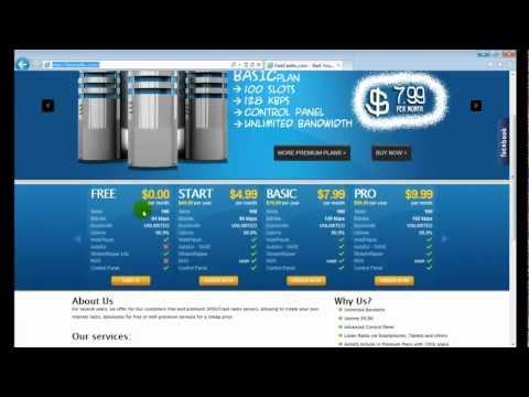 Cómo crear tu emisora de radio online - febrero 2013