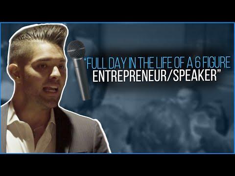 FULL DAY IN THE LIFE OF: A 6 Figure Speaker/Entrepreneur