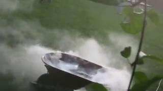 Underwater Dry Ice Bomb in a Wheelbarrow!
