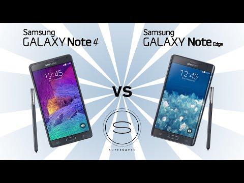 Baixar Samsung Galaxy Note 4 vs Samsung Galaxy Note Edge