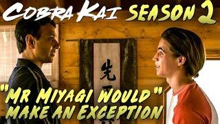 "Cobra Kai Season 2 Sneak Peek 2 Response + Breakdown ""An OG from The Karate Kid"""