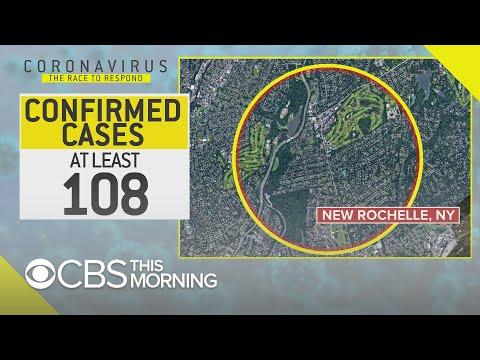 Coronavirus containment zone implemented in New York