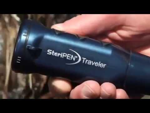 SteriPEN Traveler Portable UV Water Purifier