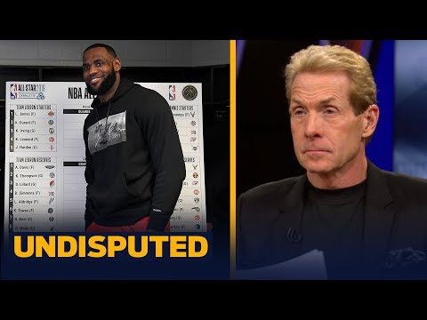 Skip and Shannon evaluate LeBron vs Giannis' picks in the NBA All-Star Game Draft   NBA   UNDISPUTED