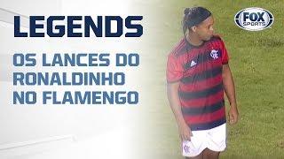 'RONALDINHO, VOCÊ É UM DEBOCHE!': Veja os lances do Ronaldinho pela Copa Internacional Legends