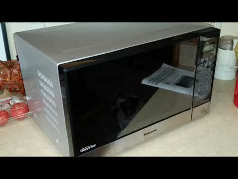 video Panasonic Stainless Steel Built-In Microwave Oven Review