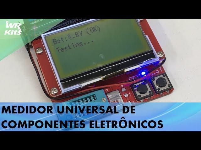 MEDIDOR UNIVERSAL DE COMPONENTES ELETRÔNICOS