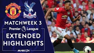 Manchester United v. Crystal Palace   PREMIER LEAGUE HIGHLIGHTS   8/24/19   NBC Sports
