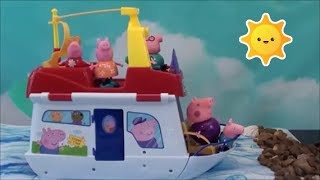 Peppa Pig Compilation: Peppa Pig House Boat, Peppa Pig Magical Jelly Beans, Peppa Pig Happy Family