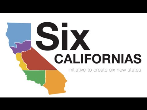 California May Breakup into Six Different States - Mark Dice  - iV190n3TYc8 -