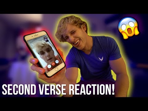 JAKE REACTS TO OUR SECOND VERSE PERFORMANCE! (pissed)