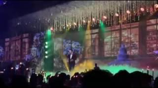 Thu Minh, Mr.Đàm và Trấn Thành hát mở màn tiệc cưới