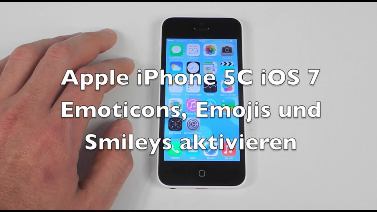 how to get emojis on iphone 5 iphone 5 5c 5s ios 7 anleitung emoticons und emojis 3383