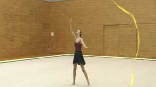 Alina Kabaeva Rhythmic Gymnastic Training Tips Ribbon