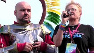 Lalka Podobińska na Paradzie Równości 2014