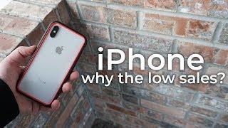 Why Aren't People Buying iPhones?