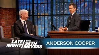 Anderson Cooper: Donald Trump Defies All the Laws of Politics - Late Night with Seth Meyers