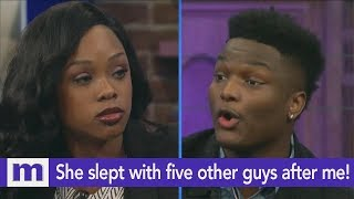 She slept with five other guys after me! | The Maury Show
