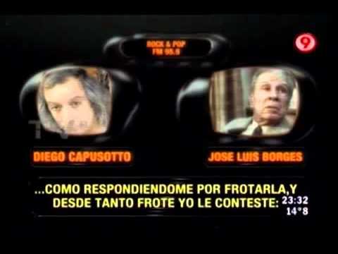 Jorge Luis Borges y el Bombon Asesino