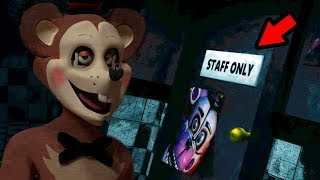 I SHOULD NOT HAVE ENTERED THIS ROOM.. A NEW ANIMATRONIC IS WAITING. || FNAF Hidden Gems