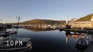 2014-07-05 Tromsø Midnight Sun Time Lapse