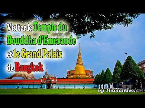 visiter le temple du bouddha d'emeraude à bangkok