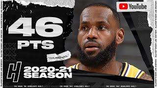 LeBron James UNREAL 46 Points Full Highlights vs Cavaliers | January 25, 2021 | 2020-21 NBA Season
