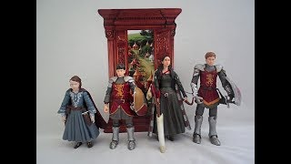 Narnia Peter, Susan, Edmund, & Lucy Action Figures