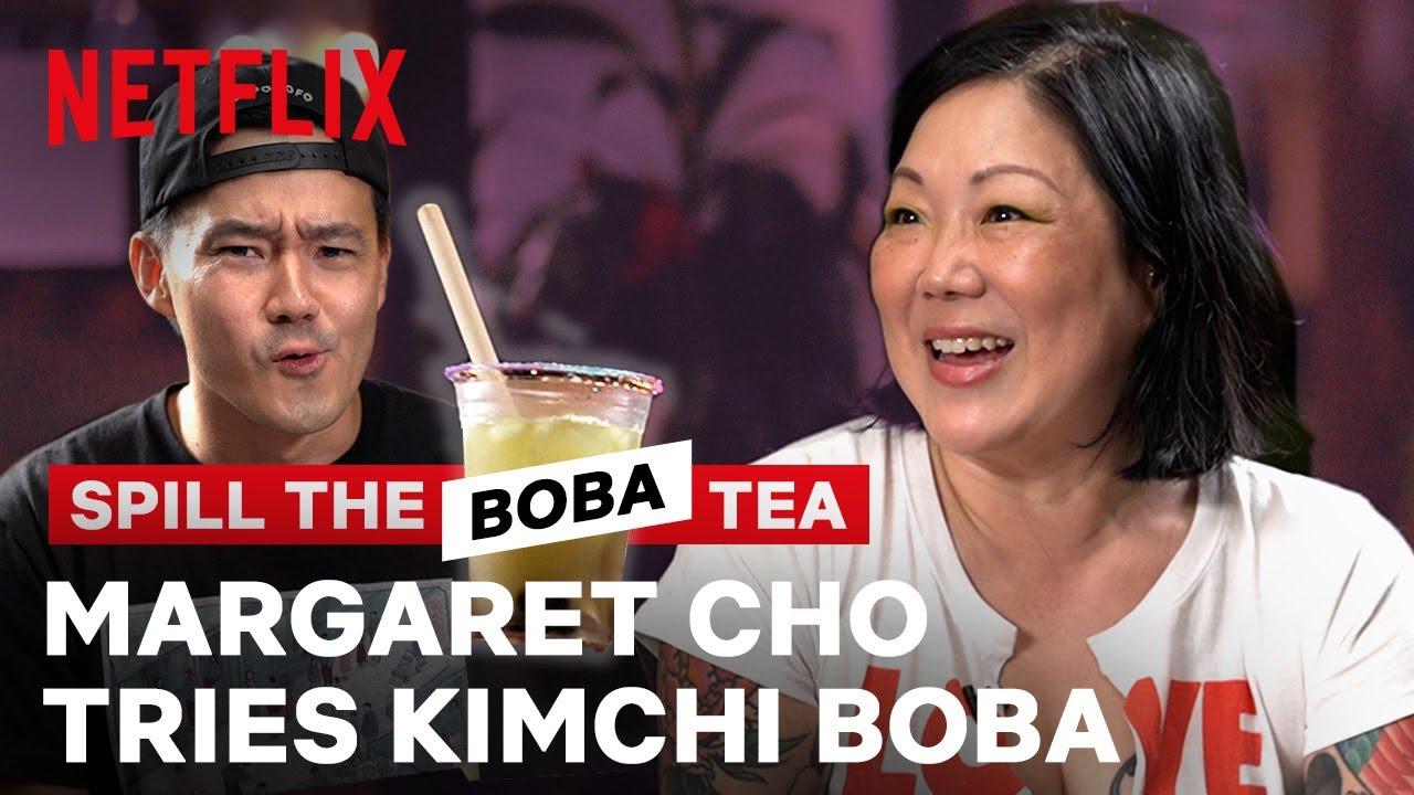 Margaret Cho Tries Kimchi Boba?! Spill the Boba Tea   Netflix