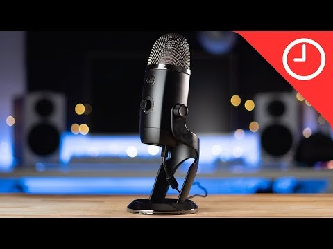 video Micrófono Blue Yeti X – Micrófono USB Profesional Para Juegos, Streaming Y Podcasting