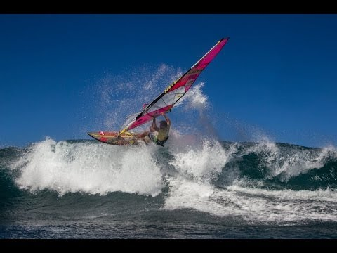 Windsurfing legend Robby Naish makes a comeback