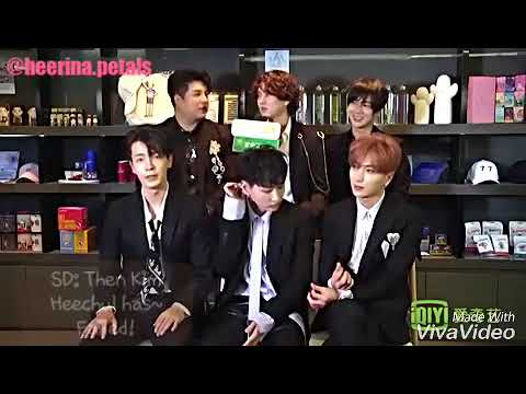 [ENG] 171206 IQIYI Interview with Super Junior - Heechul's cut