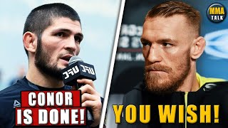 Khabib FORECASTS Conor McGregor's future in the UFC, Dana White gives a 2nd chance to Ottman Azaitar