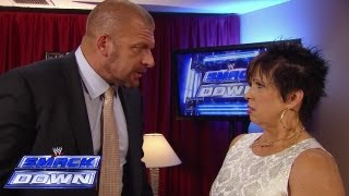 Triple H admonishes Vickie Guerrero: SmackDown, Sept. 20, 2013