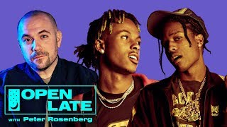 A$AP Rocky and Rich The Kid join Peter Rosenberg for debut episode of