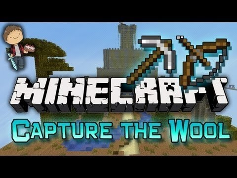 Minecraft: Capture The Wool Mini-Game Part 2 Of 2 W/Mitch, Jerome, And Ryan! - Smashpipe Games