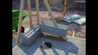 Byggmax tipsar, mura med murblock eller lättklinker (Del 2 - murning och armering)