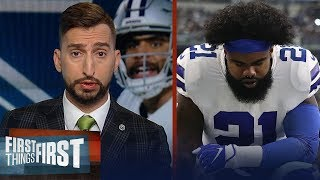 Cowboys showed no ability to win when Zeke doesn't play well - Nick   NFL   FIRST THINGS FIRST