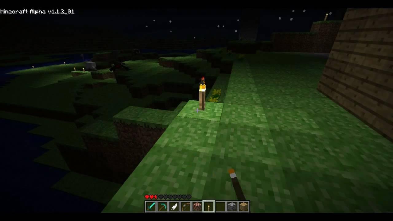 Minecraft Spider jockey! - YouTube