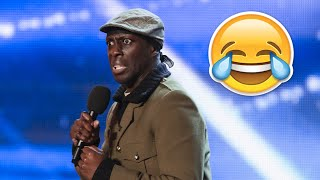 Britain's Got Talent Top 5 COMEDIANS (Auditions)