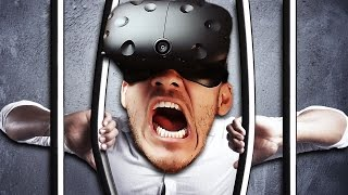 VIRTUAL REALITY ROOM ESCAPE!! | Vacate the Room - VIVE