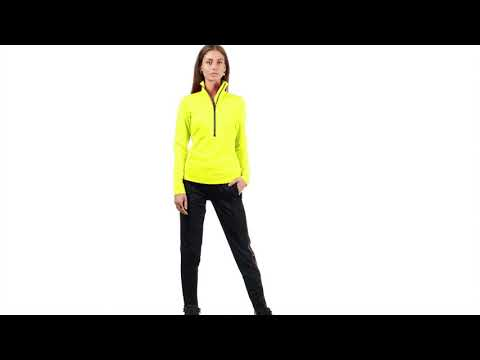 Goldbergh Serena Womens Baselayer in Lemon