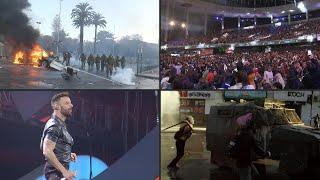 El Festival de Viña del Mar abre con protestas y Ricky Martin pidiendo por DDHH | AFP