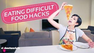 Eating Difficult Food Hacks - Hack It: EP40