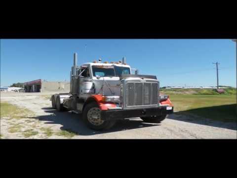 1996 Peterbilt 379 semi truck for sale | no-reserve Internet auction September 22, 2016