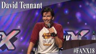 David Tennant - Full Panel/Q&A - FanX 2018